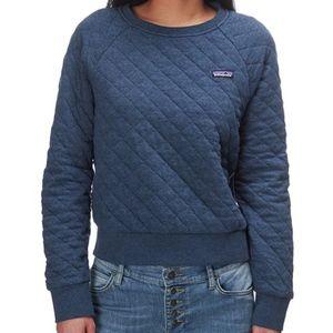 Patagonia W's Organic Cotton Quilt Crew Sweatshirt